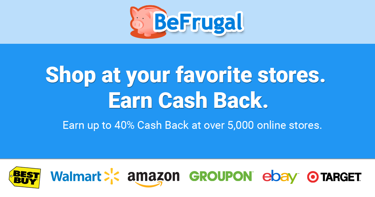 BEFRUGAL SIGN UP BONUS